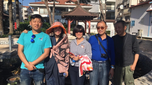 Marmaris'e Çinli turist ilgisi