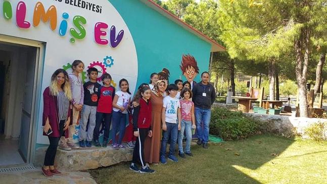 Bilsem öğrencileri Bilim Parkı'nı ziyaret etti