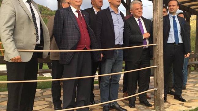 CHP'li Milletvekilleri parka hayran kaldı