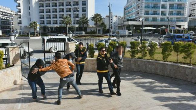 Marmaris'te gasp, yağma ve saldırı