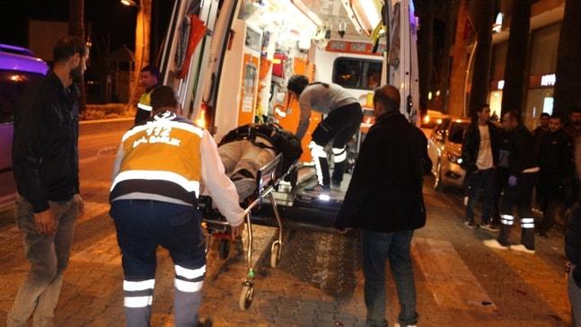 Marmaris'te trafik kazası: 2 yaralı