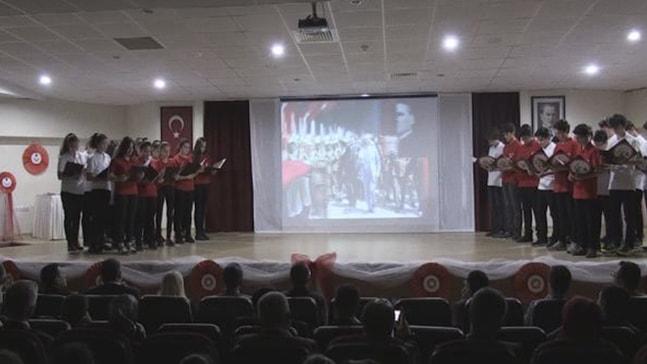 Marmaris'te Mehmet Akif Ersoy Törenle Anıldı