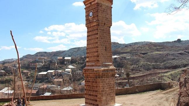 119 yıllık tarihi saat kulesi restore edildi