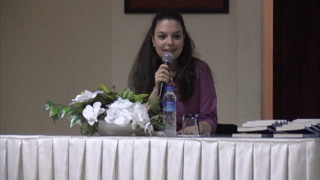 Rana Demiriz genç kalemlerle buluştu