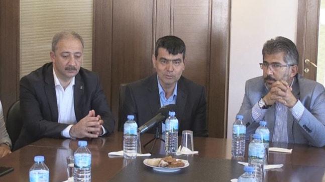 AK Parti'den Halil Bağlı'ya ziyaret