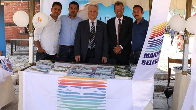 Marmaris Türk Alman Dostluk Günü'ne katıldı