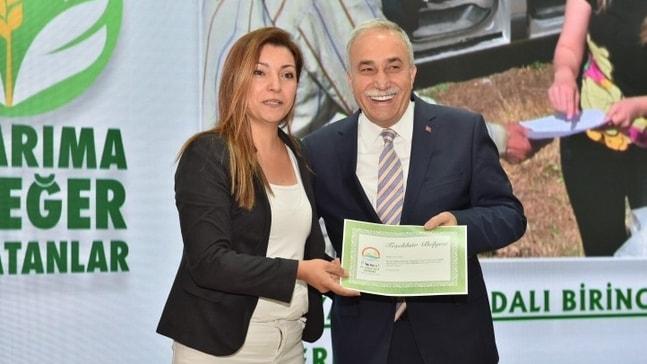 'Tarıma Değer Katanlar' yarışmasında Muğla'ya iki ödül
