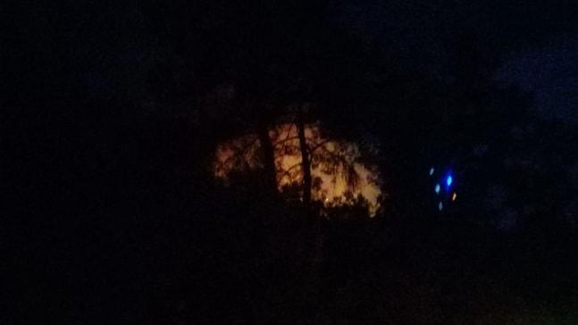 Marmaris Hisarönü'nde çıkan orman yangını söndürüldü