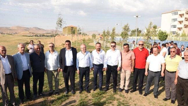 İzmit'ten  Kızıltepe'ye dostluk parkı