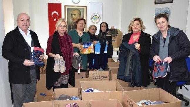Marmaris'ten Erciş'teki Öğrencileri Isıtacak Yardım