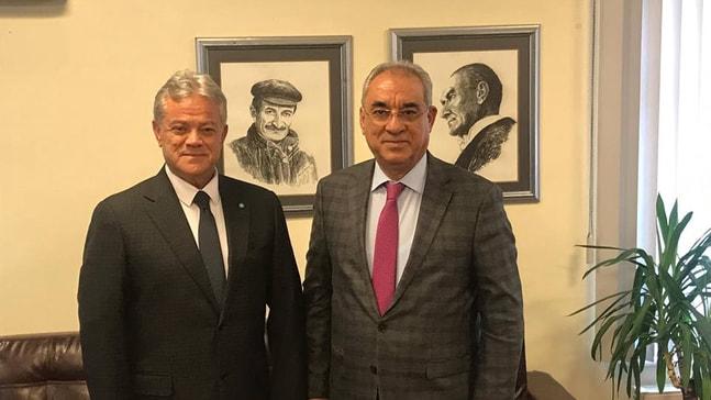Başkan Ali Acar DSP'de