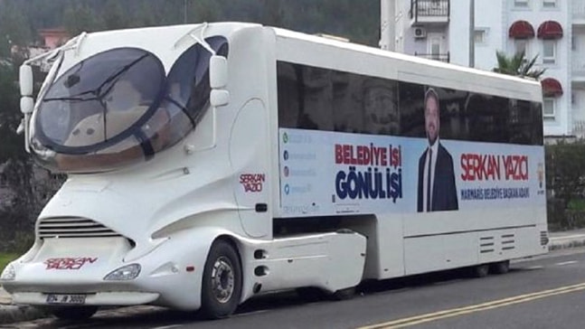 Serkan Yazıcı'dan seçim tırı hakkında açıklama