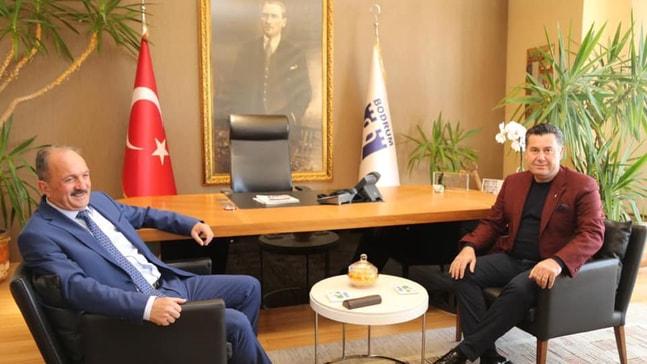 Behçet Saatcı'dan Mehmet Kocadon'a ziyaret