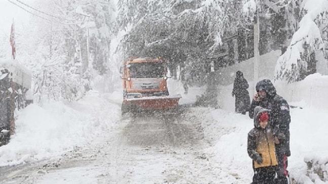 Muğla'nın yüksek kesimlerine kar yağışı etkili oldu