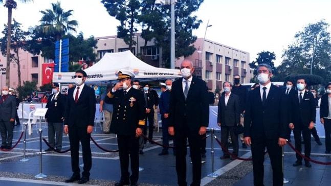 Marmaris'te Atatürk saygı ile anıldı