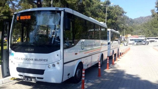 Muğla'da toplu taşımada nakit para kalkıyor