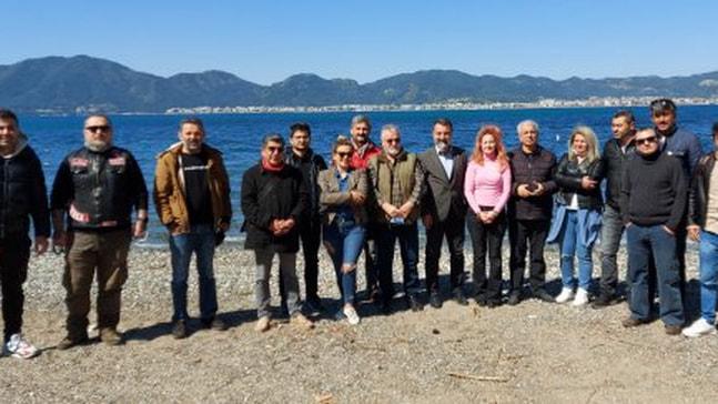 Muğla gazeteciler derneği Marmaris basınıyla bir araya geldi