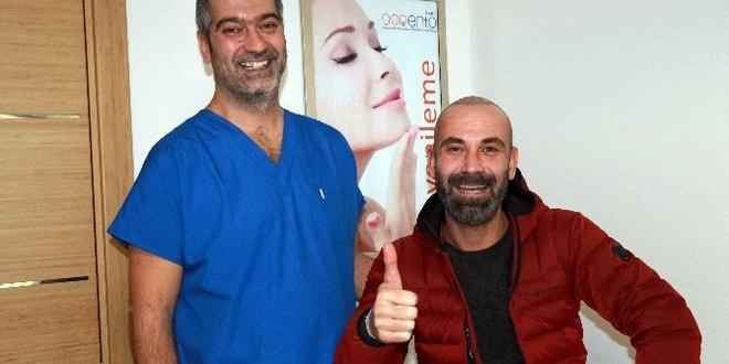 Ünlü yönetmen İzmir'de saç ektirdi