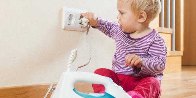 Çocukları ev kazalarından koruyan 13 önlem