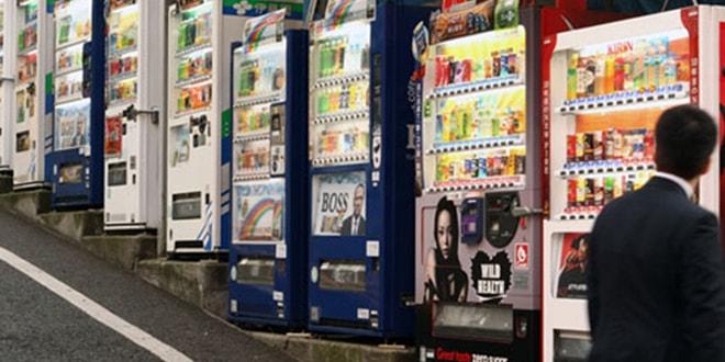 Japonya'nın insansız marketleri 'otomatlar'