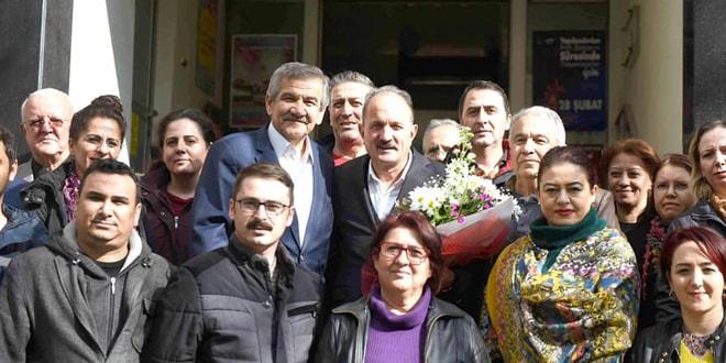 CHP'li Başkan'dan Behçet Saatcı'ya destek