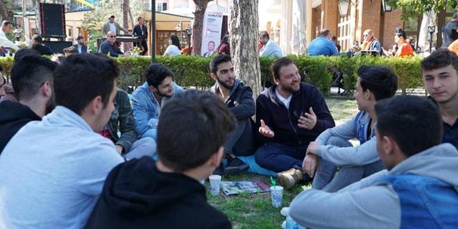 Serkan Yazıcı gençlerle buluştu