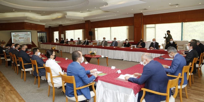 Muğla'da 2021 yılı Orman Yangınlarıyla Mücadele Koordinasyon Kurulu toplantısı