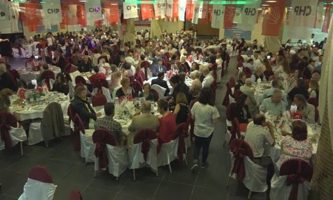 CHP'de birlik ve dayanışma yemeği