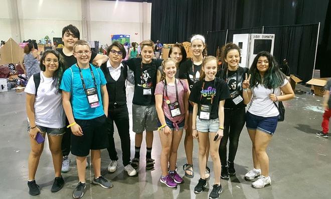 Marmarisli gençler Amerika'da yarıştı