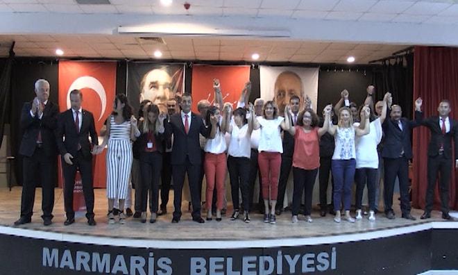 CHP Marmaris'te yeni ilçe yönetimini belirledi