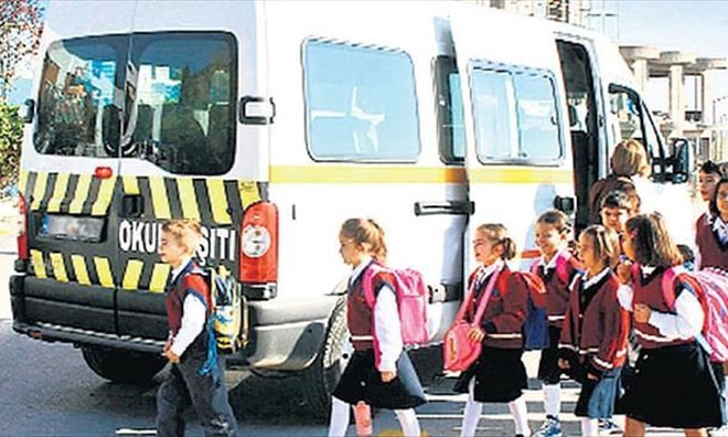 Okul servis ücretleri belirlendi