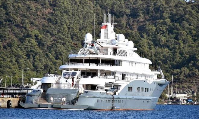 Marmaris'e 1 Milyon Lira bıraktı