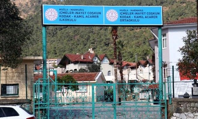 Marmaris'te okullarda ki temizlik ve güvenlik görevlilerine kovid 19 testi
